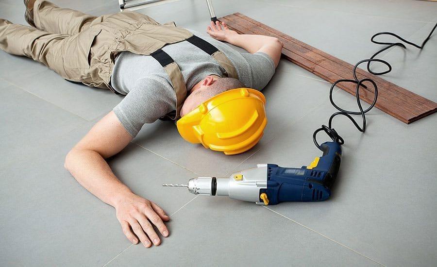 uk wypadek w pracy