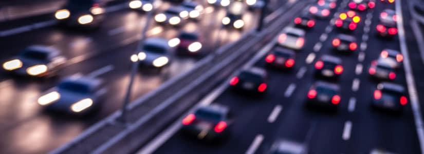 wypadek na autostradzie uk