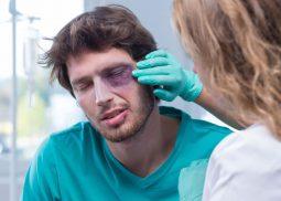 odszkodowanie zauszkodzenie wzroku uk