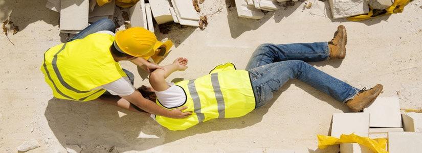 wypadek na budowie uk
