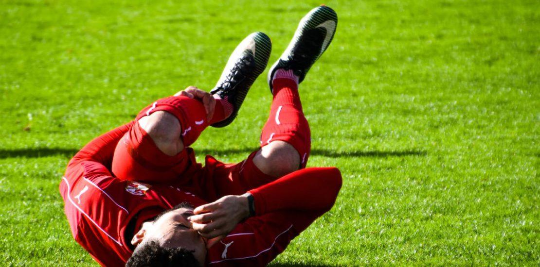Obrażenia ciała związane ze sportem uk
